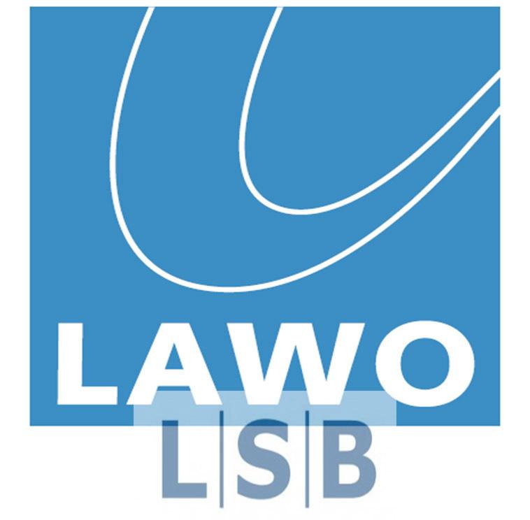 L-S-B wird Lawo (Logos)