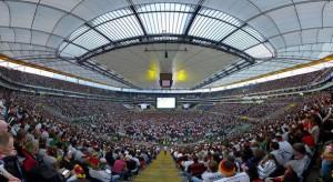 Ausverkauft Public Viewing in der Commerzbank-Arena Frankfurt
