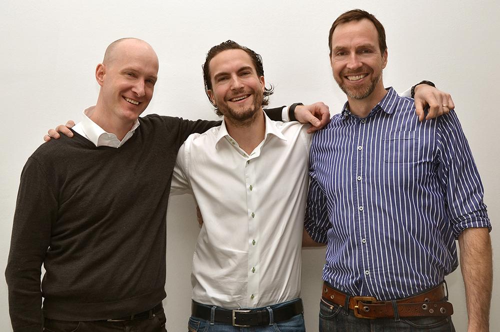 Matthias Joest, XE Cai-Nicolas Ziegler und EB Richard Caelius