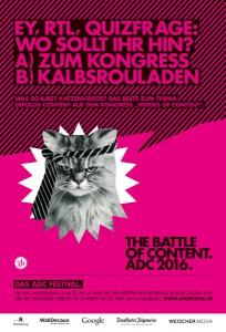 ADC Plakat
