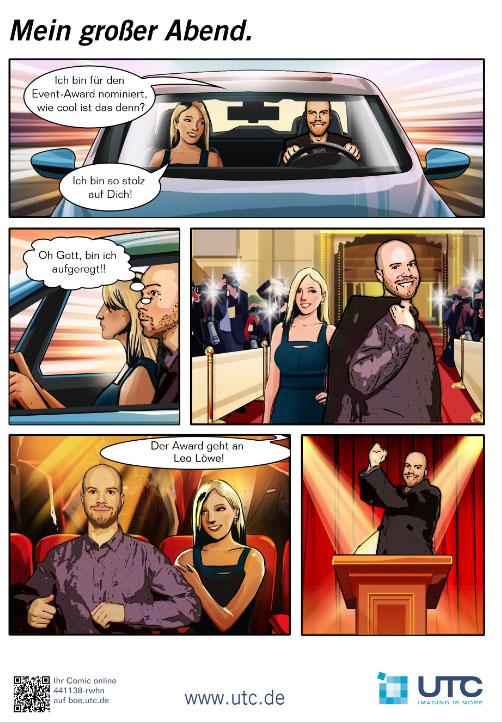 Comic Shoot von UTC