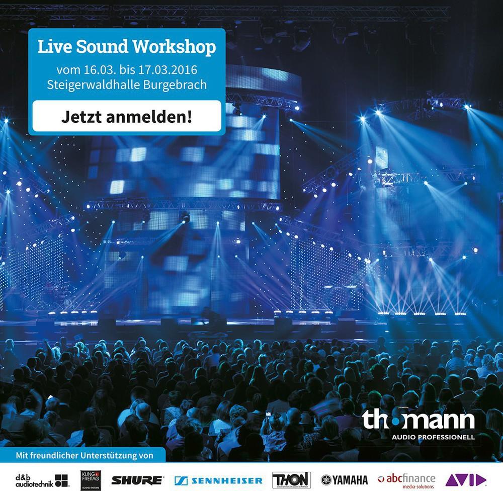 Live Sound Workshop von Thomann Audio Professionell