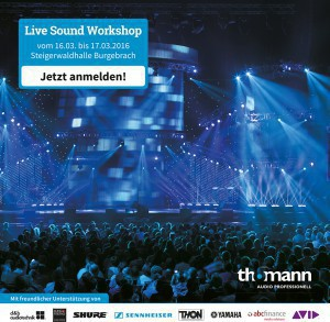 Live Sound Workshop von Thomann Audio Professionell