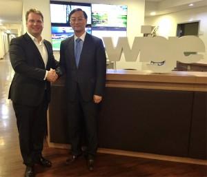 Peter Lauterbach und Zhang Dazhong