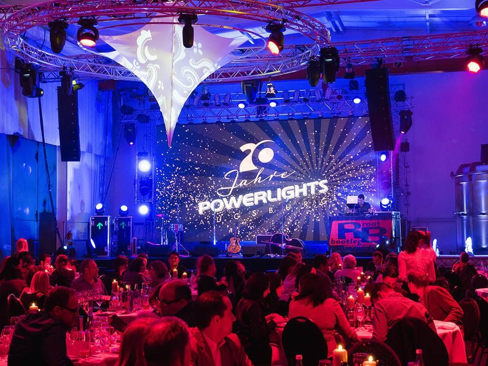 Jubiläum von Power Lights Augsburg