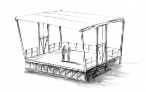 Zeichnung der Smart Stage 70