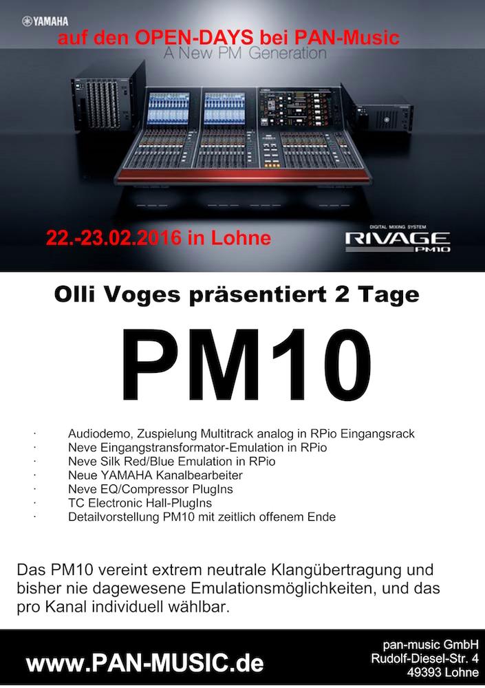 Yamaha PM10 bei pan-music