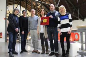 Übergabe des Zora Award 2015