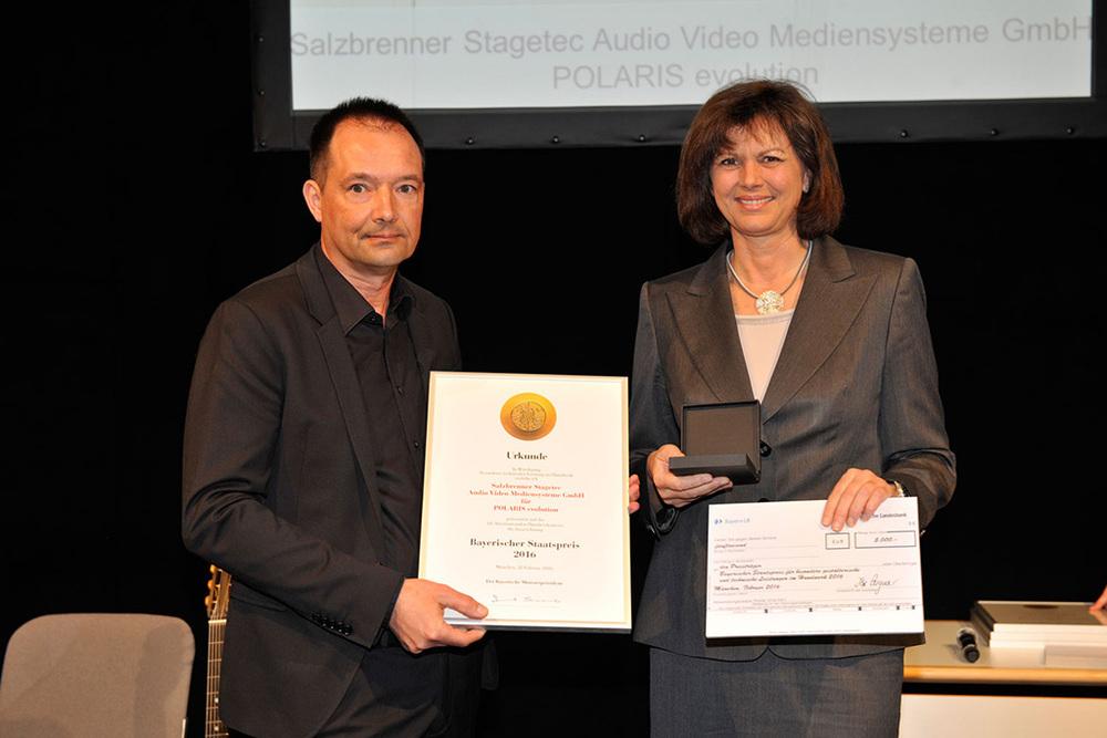 Wolfgang Salzbrenner und Ilse Aigner