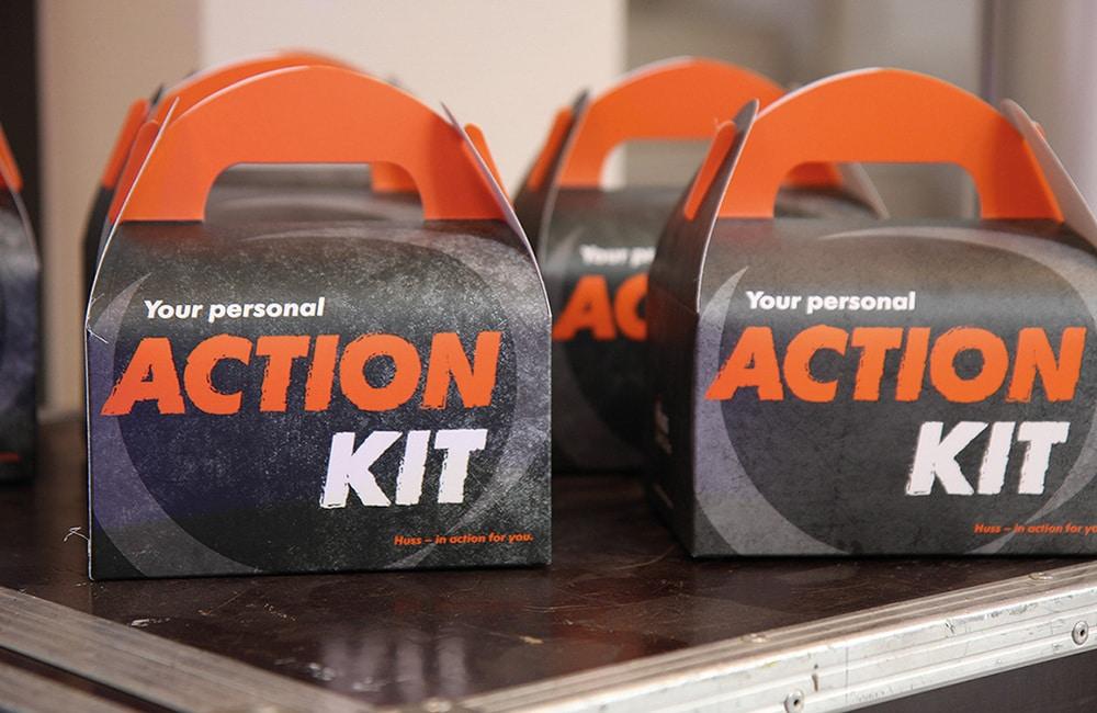 Action Kit von Huss Licht & Ton