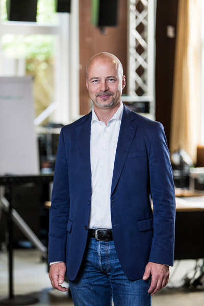Amnon Harman, CEO von D&B Audiotechnik
