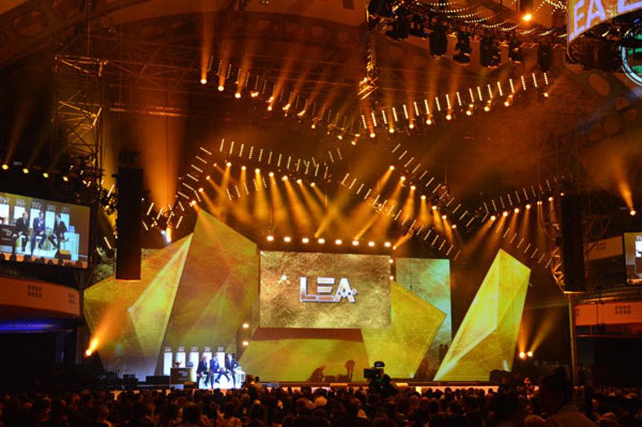 Festhalle des LEA-Awards