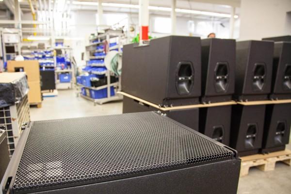 Lager D&B Audiotechnik