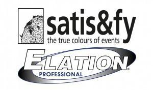 Logos: Satis & Fy und Elation Professional