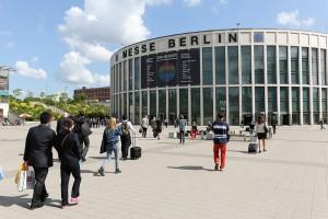 Eingang der Messe Berlin