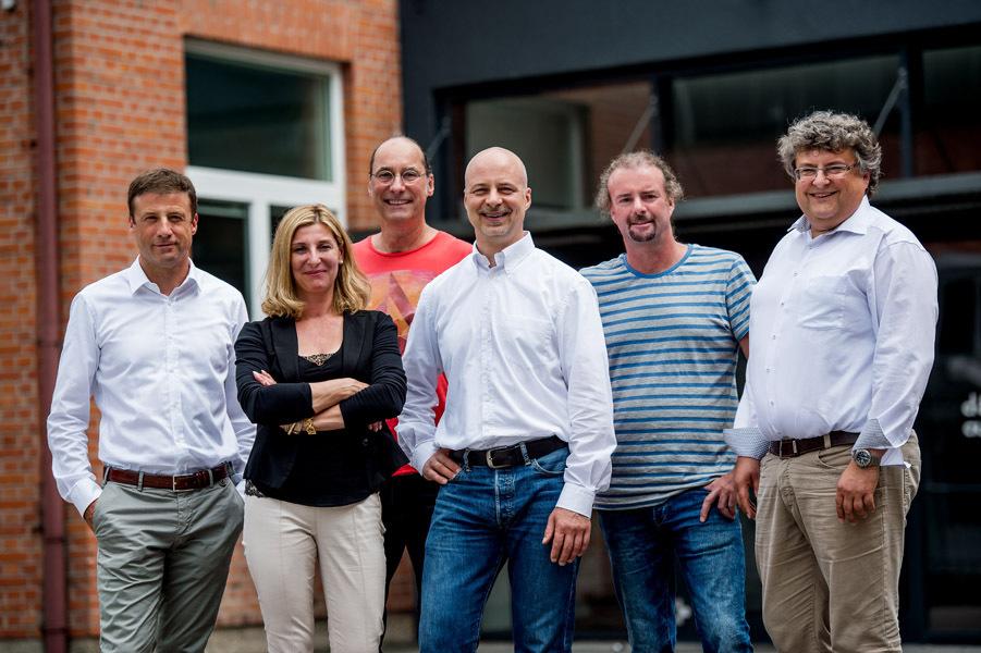 Das d&bManagement Team im Juli 2015