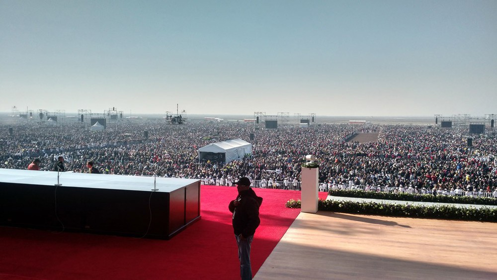 Papst-Messe in Mexiko
