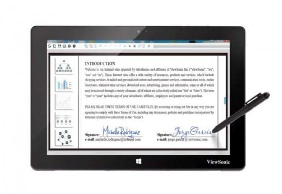 Stift-Display von Viewsonic