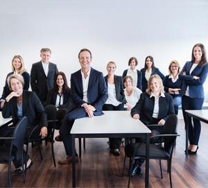 Team des Studieninstituts für Kommunikation