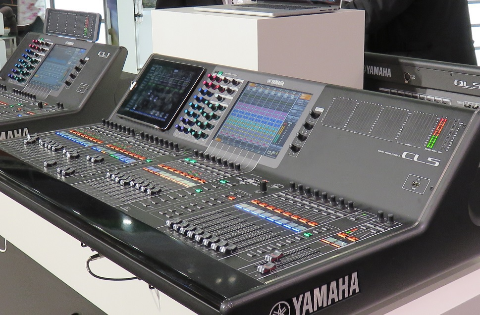 Firmware V4.0 für Yamaha CL- und QL-Konsolen