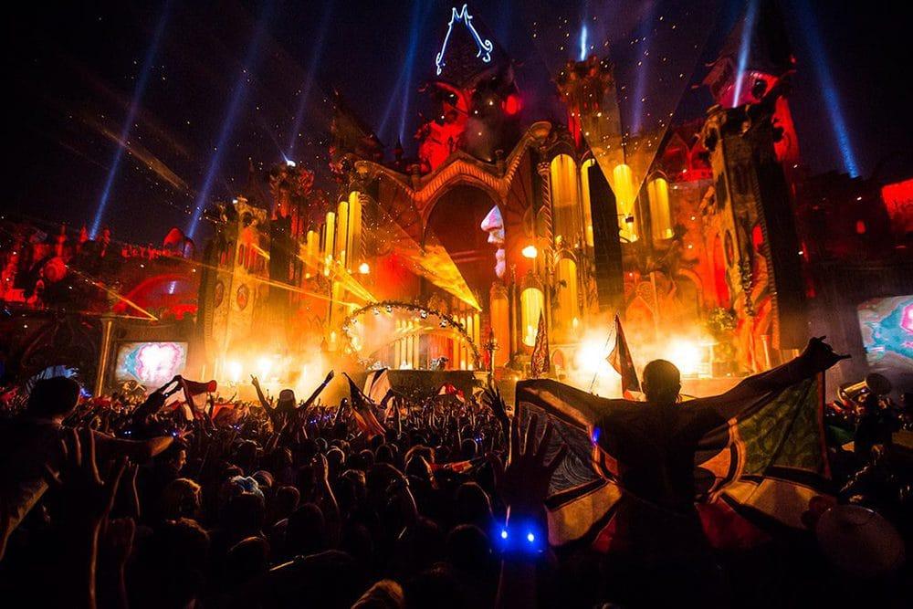 Eindruck vom Festival Tomorrowland
