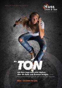 Image-Kampagne von Huss Licht & Ton