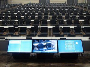 Konferenztechnik im World CC Bonn