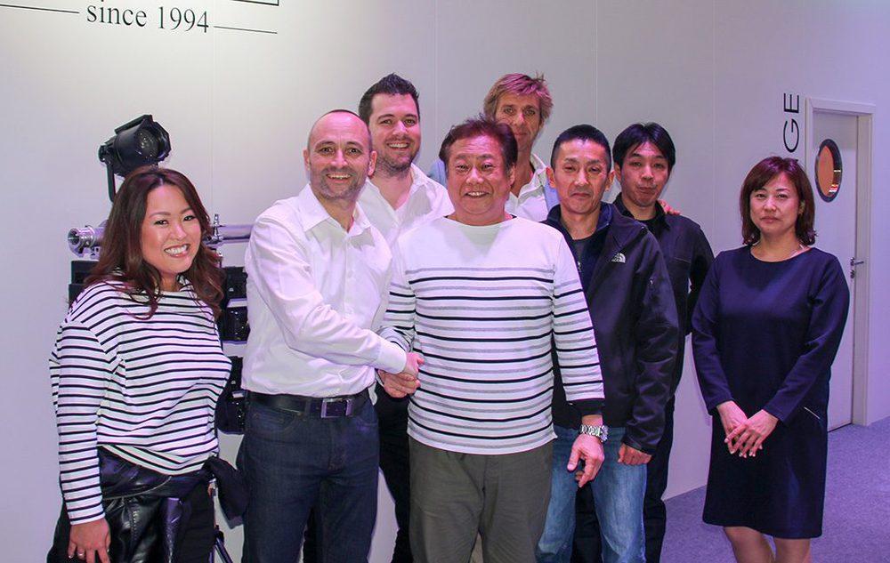 GLP zu Besuch beim japanischen Vertrieb