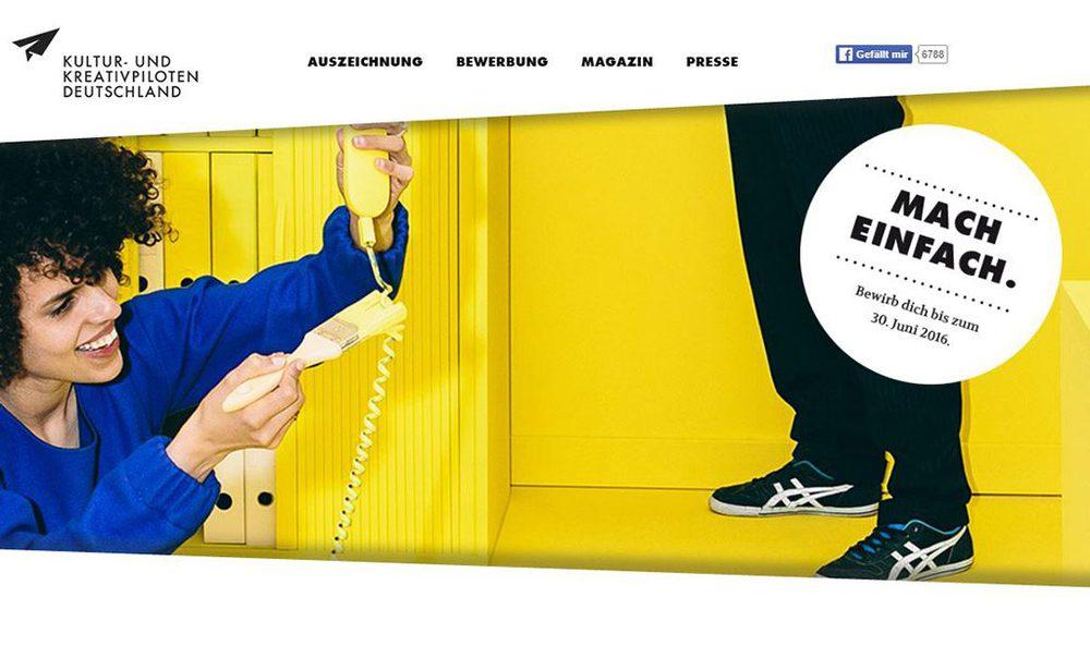 Website Kultur-Kreativpiloten.de