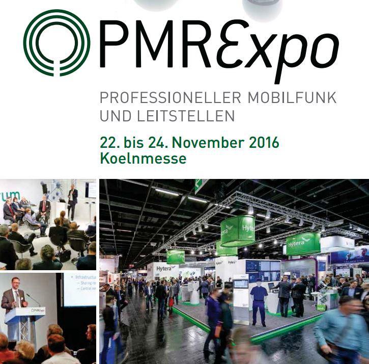 Werbeplakat der PMR Expo