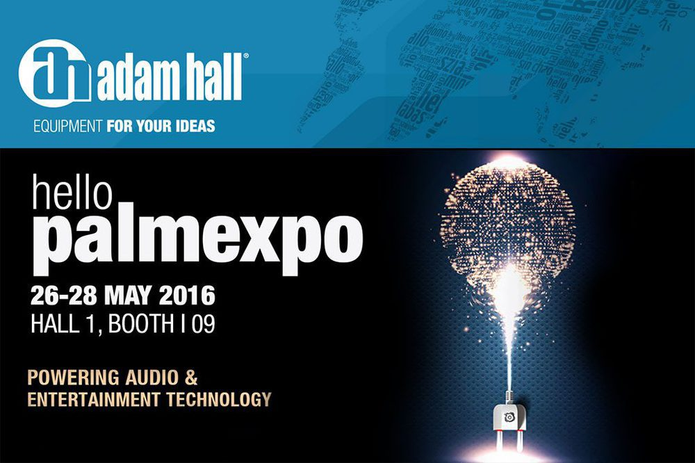 Adam Hall Group auf der Palm Expo India