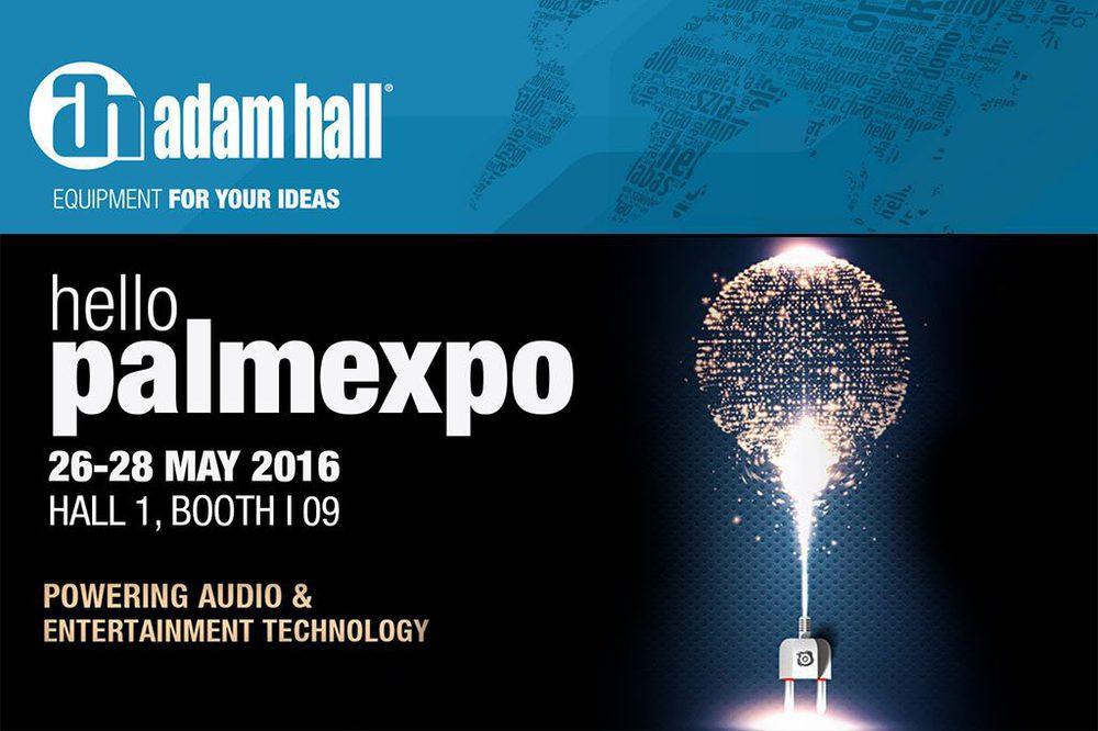 Adam Hall Group auf der Palm Expo India