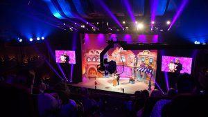 Sascha Grammel auf der Bühne