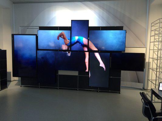 Videowall von Kern & Stelly