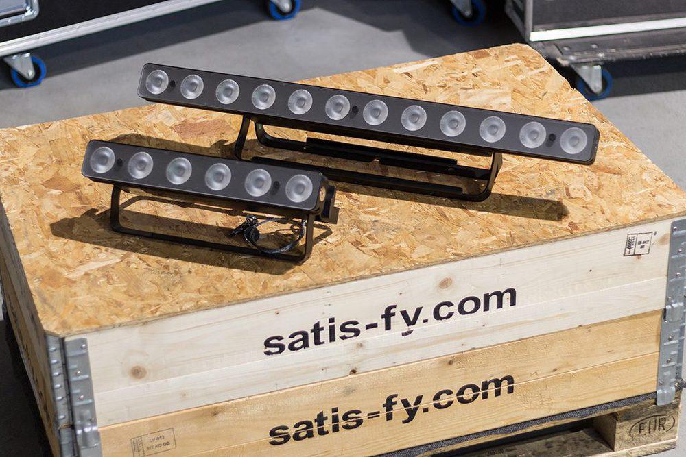 LED-Lichtleisten der Six Bar Serie