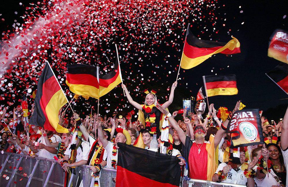 Fanmeile am Brandenburger Tor