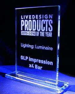 Live Design X4 Bar 20 Award_LOW
