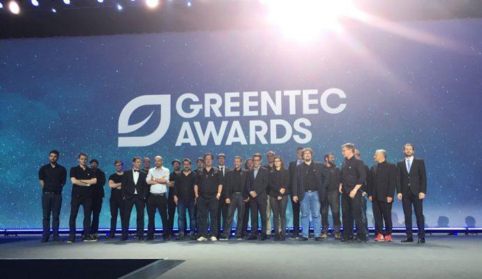 N&M-Team beim Green Tec Award 2016