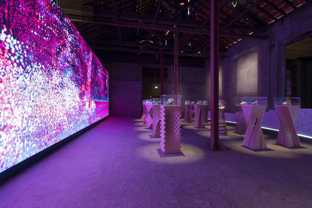 """Ausstellung """"The Nature of Motion"""" von Nike zur Mailänder Design Week 2016"""