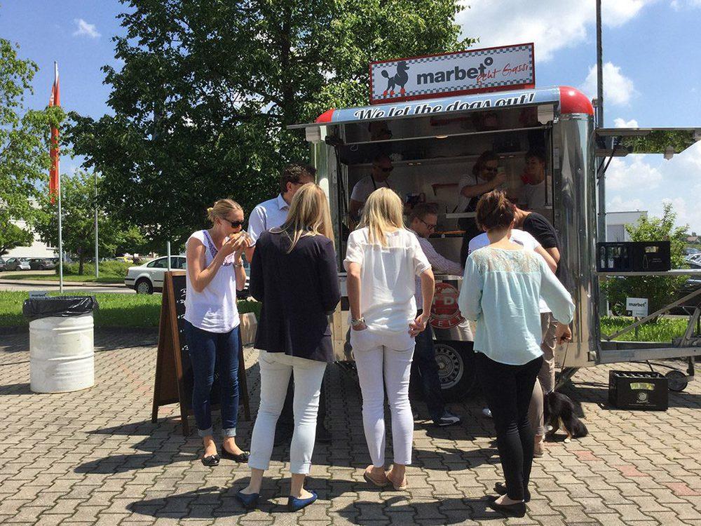Foodtruck-Wagen von Marbet