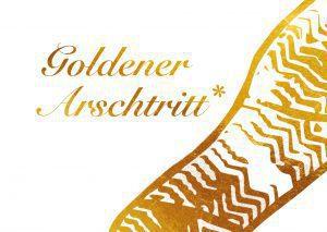 Leitmotiv Goldener Arschtritt des 12. INA Awards