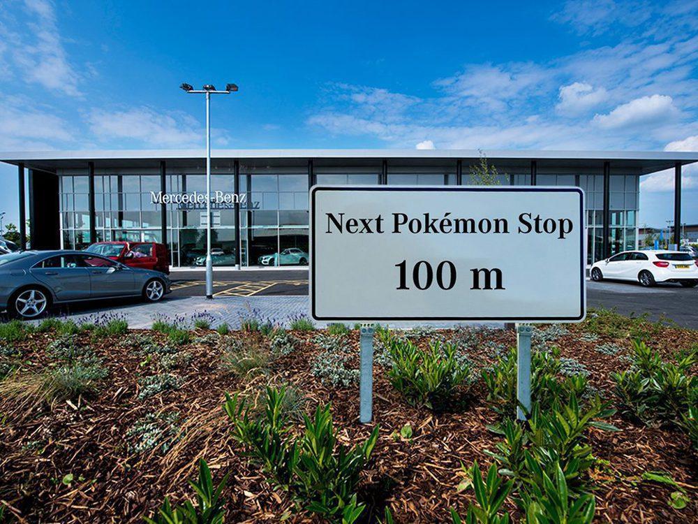 Next Pokémon Stop at Mercedes-Benz