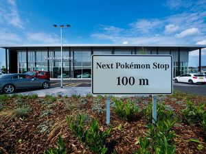 Next Pokémon Stop at Mercedes-Benz
