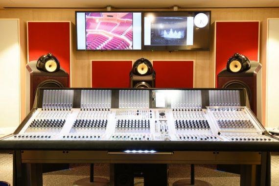 Tonstudio eingerichtet von thomann Audio Professionell