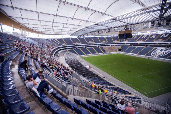 Konzert im Fußballstadion