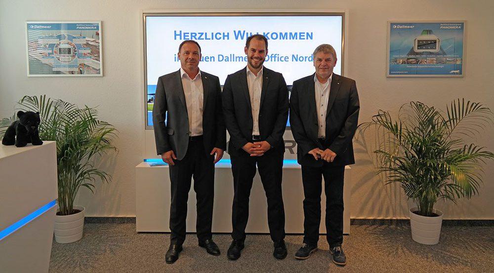 Georg Martin, Dirk Lüders und Gerhard Hinrichs