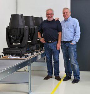 David Keighley und Peter Johansen