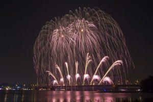 Feuerwerk Ruhrorter Hafenfest