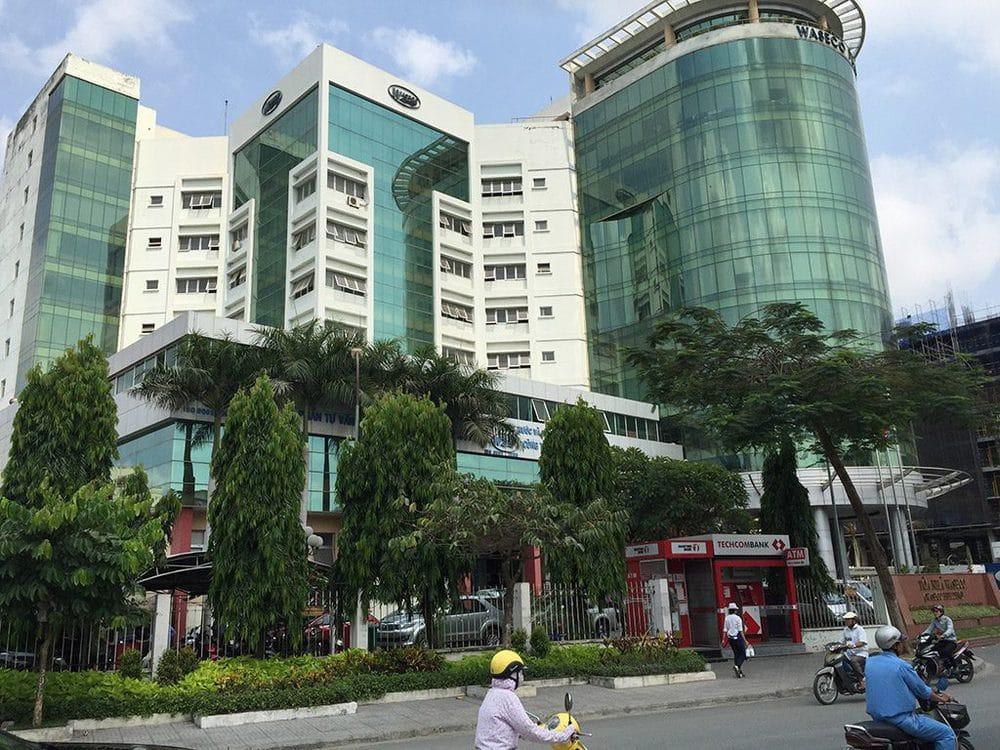 Straßenszene in Südostasien