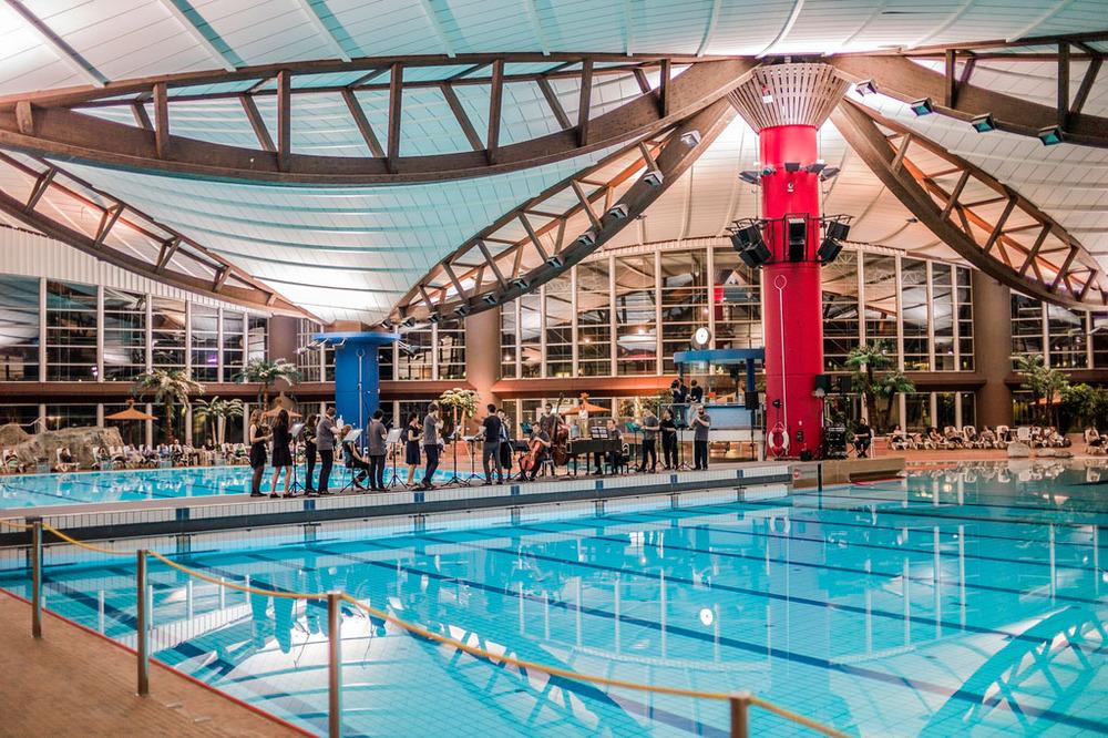 Konzert im Schwimmbad